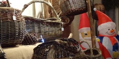 Vannerie à Objat maison du père Noël